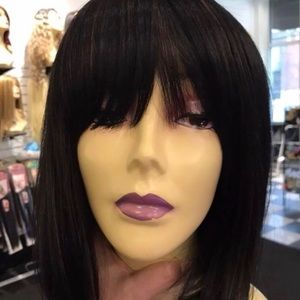 Accessories - Full Lace black Bob Wig fulllace 2019 Hairstyle